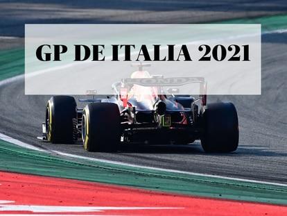 Max Verstappen durante la clasificación al sprint para el Gran Premio de Italia de Fórmula 1