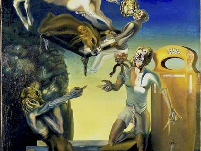 'Guillaume Tell' (1930), obra de Salvador Dalí, actualmente en la colección del Centre Pompidou, en París.