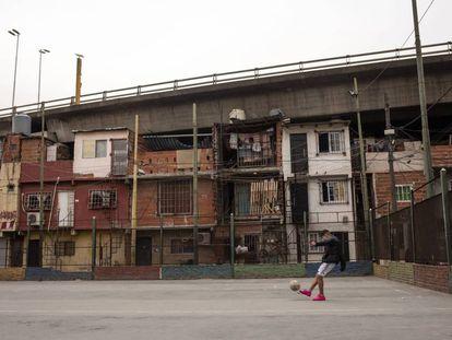 La Villa 31 de Buenos Aires, en una foto de archivo.