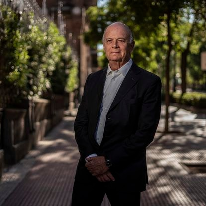 DVD 1061 (07-07-21)Enrique Krauze, historiador, ensayista, edito y empresario mexicano, fotografiado en Madrid. Foto: Olmo Calvo