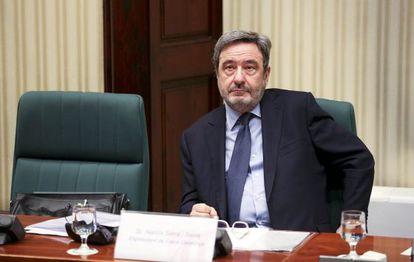 El expresidente de Caixa Catalunya, Narcís Serra