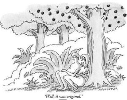 Viñeta del 'The New Yorker' censurada en Facebook.