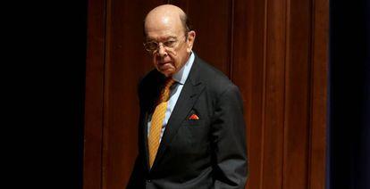 Wilbur Ross, secretario de Comercio de EE UU