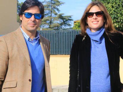 Francisco Rivera y Lourdes Montes, el pasado 29 de diciembre.