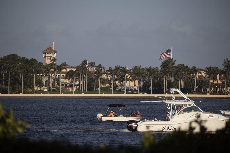 Mar-a-lago, el hogar de Donald Trump en Palm Beach, Florida.