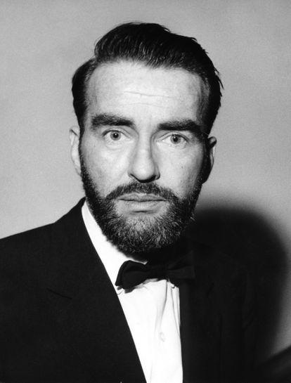 Montgomery Clift, en una imagen de 1961, cinco años antes de su muerte.