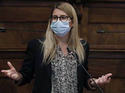 La vicepresidenta y portavoz de Junts per Catalunya, Elsa Artadi.