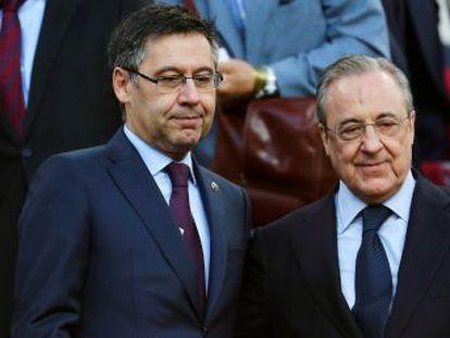 El presidente del Barcelona ensalza el curso del equipo de fútbol frente al Senado azulgrana