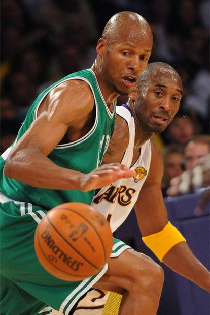 Ray Allen, ante Kobe Bryant.