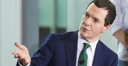 George Osborne ministro de Economía británico.