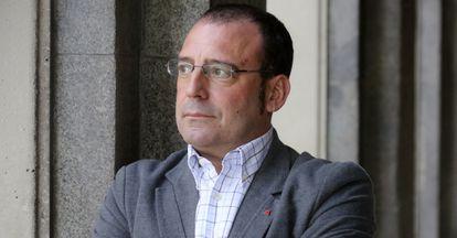 José Antonio Moreno, aspirante en las primarias de IU a ser elegido el candidato a la Comunidad en mayo de 2015.
