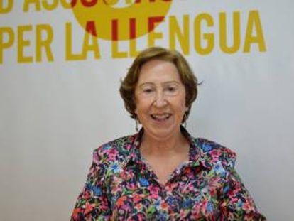 Carme Miquel. Imagen cedida por Escola Valenciana