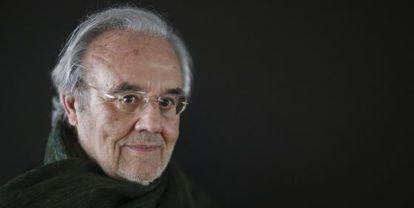 El director Manuel Gutiérrez Aragón, en una imagen tomada en Madrid el pasado mes de febrero.