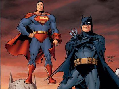 Supermán y Batman de Carlos Pacheco.