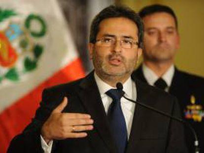 El primer ministro de Perú, Juan Jiménez. EFE/Archivo