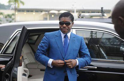 Teodoro Obiang Nguema, 'Teodorín', vicepresidente de Guinea Ecuatorial e hijo del presidente del país, el 24 de junio de 2013.