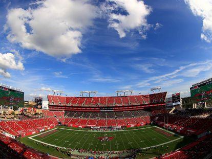 El estadio de Tampa Bay Buccaneers.