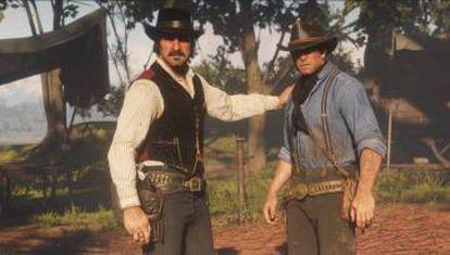 Dutch y Arthur, en un instante del juego.