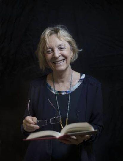 Soledad Puértolas, escritora y académica de la Real Academia de la Lengua Española (RAE).