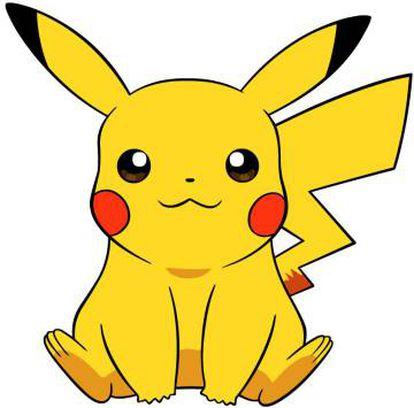Ilustración de Pikachu.