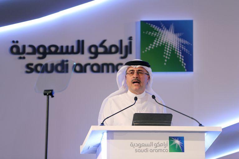 El presidente y consejero delegado de Aramco, Amin Nasser, en noviembre de 2019.