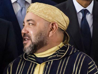 El rey Mohamed VI.