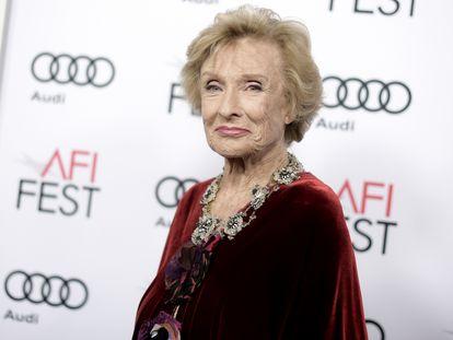 Cloris Leachman, en el festival del American Film Institute en noviembre de 2016.