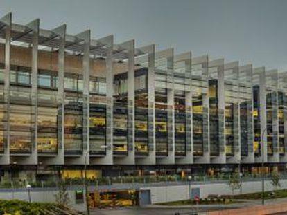 Sede central de Repsol, en Madrid, en una foto promocional.