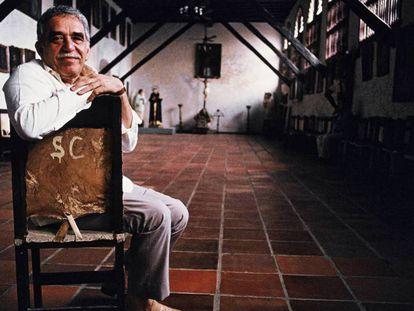 Gabriel García Márquez, en 1991, en Cartagena (Colombia). En vídeo, el teaser promocional de la serie de 'Cien años de soledad'.