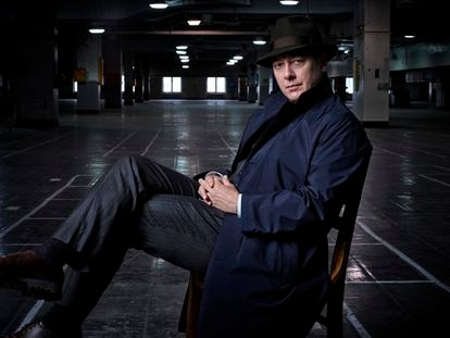 James Spader en una imagen de la tercera temporada de 'The Blacklist'.
