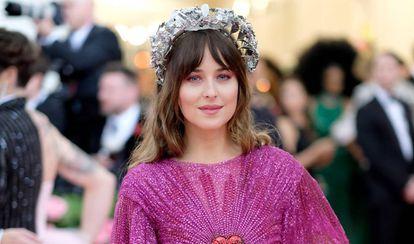 Dakota Johnson, en la gala del Met de Nueva York, el 6 de mayo de 2019.