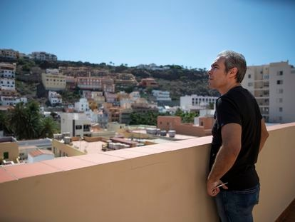 Ramón Arteaga, dueño del Hotel Torre del Conde, en La Gomera, cerrado durante la pandemia.