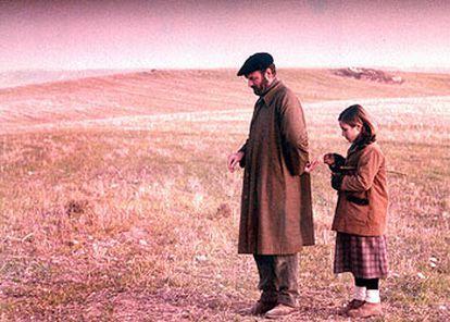 Omero Antonutti y Sonsoles Aranguren, en una imagen de <i>El Sur,</i> de Víctor Erice.