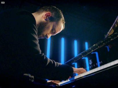 Igor Levit durante su presentación en la apertura de la edición 63 de los Premios Grammy en marzo de este año.