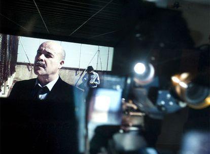 Proyección en Barcelona de la película<i> Celda 211, </i>en la que participa Antonio Resines.