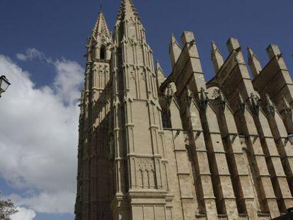 Viata de la catedral de Palma de Mallorca.