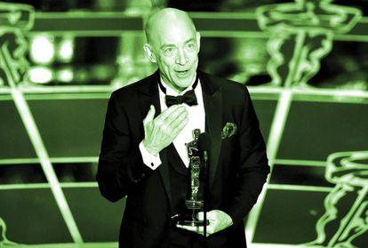 J.K. Simmons apostó por el mensaje conmovedor, y acertó. Fue premado con el Oscar por su papel en Whiplash (2014).