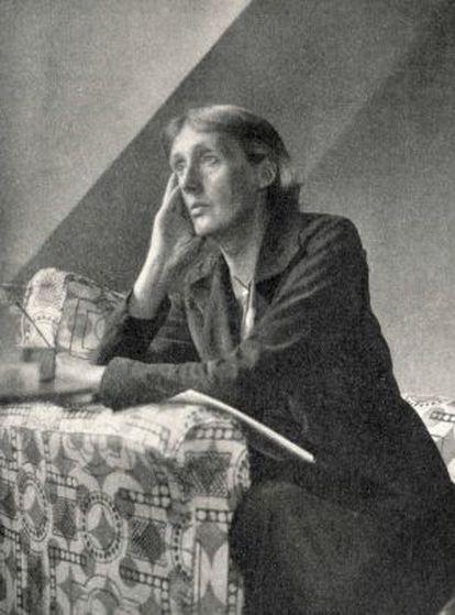 Retrato de la escritora Virginia Woolf.