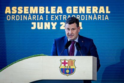 El vicepresidente económico del Barcelona, Eduard Romeu.