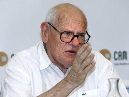 Muere François Houtart, sociólogo y teólogo de la liberación belga
