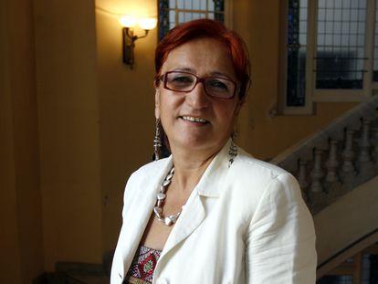 Pilar Estébanez, en 2006.