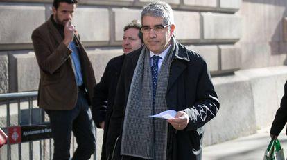 El ex consejero de presidencia del gobierno catalán, Francesc Homs.
