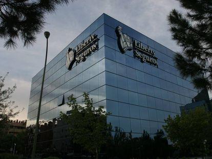 La sede de Liberty Seguros, en Madrid.