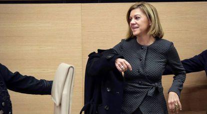La ministra de Defensa, María Dolores de Cospedal.