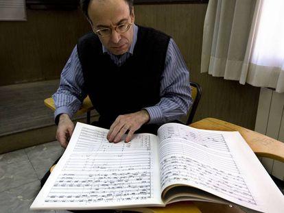 El compositor Benet Casablancas.