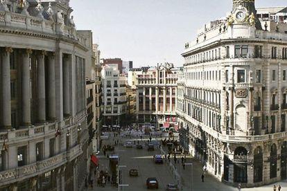 Proyección municipal de cómo quedaría el área de Canalejas con el proyecto de Botella.