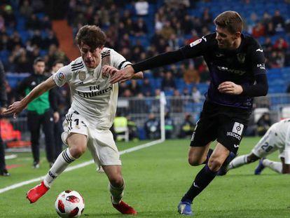 Odriozola intenta marcharse de Gumbau. En vídeo, declaraciones de Solari, entrenador del Real Madrid, tras el partido de copa contra el Leganés.