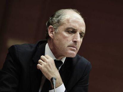 Francisco Camps, expresidente de la Generalitat valenciana, en una imagen de archivo.