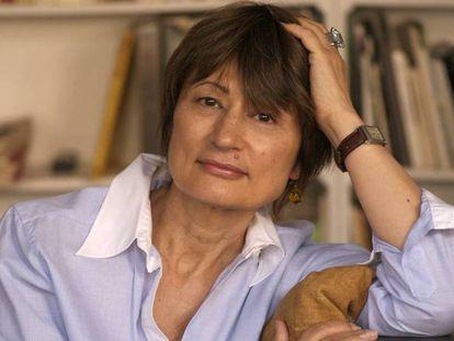 La escritora francesa Catherine Millet, en su casa en abril de 2016.