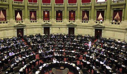 El Congreso argentino, el miércoles.